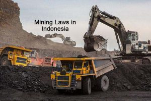 The Mining Laws in Indonesia